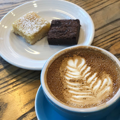 Coffee and sweet treats at One Girl Bakery in DUMBO