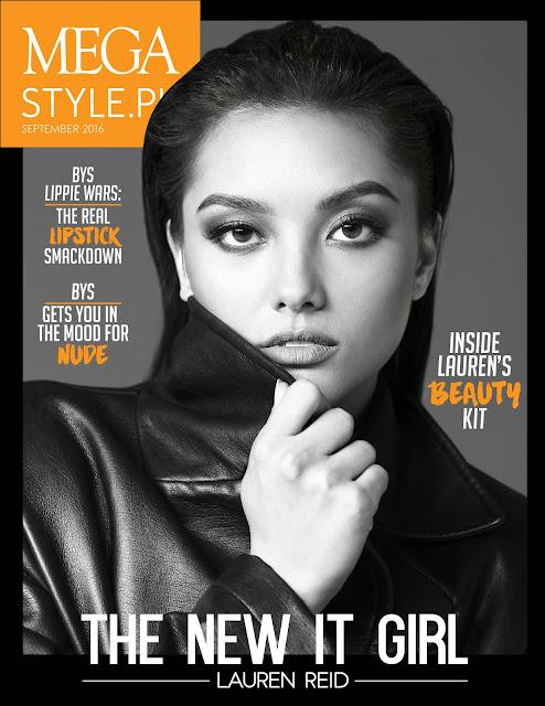 Lauren Reid MEGAstyle September 2016 Cover