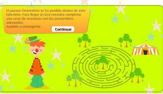 http://www.primaria.librosvivos.net/archivosCMS/3/3/16/usuarios/103294/9/6EP_Len_cas_ud4_228_LosPronombres/frame_prim.swf