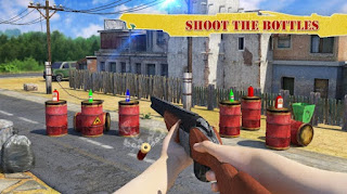 Bottle Shooter Game 3D Mod Apk Money v1.3 Terbaru 2018