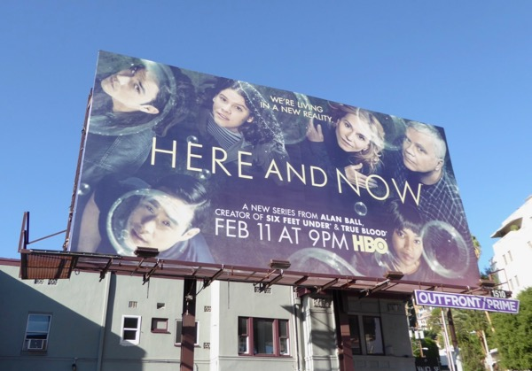Here and Now series premiere billboard
