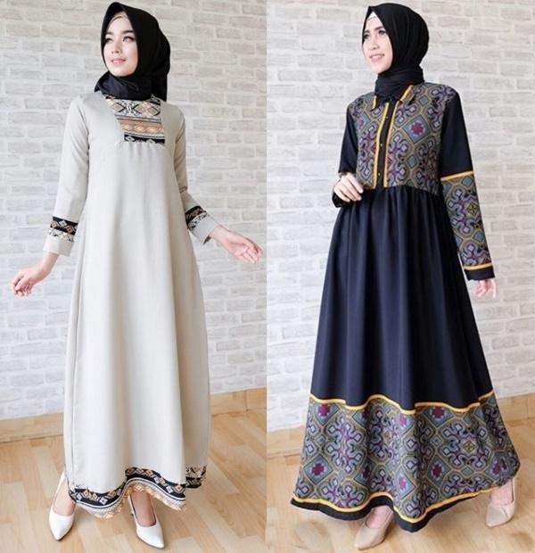 Fashion Tren Model Baju Gamis Pesta Dan Lebaran