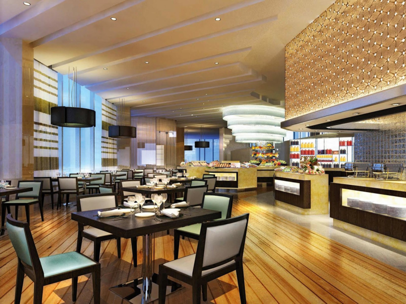 Interior design kitchen restaurant interior design - Interior design for hotels and restaurants ...