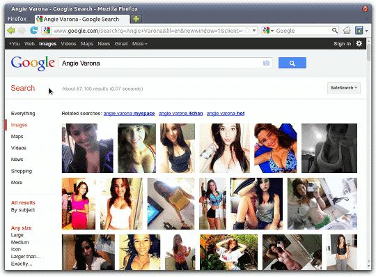 [FOTO] Gadis ABG Stress Jadi Simbol Seks setelah Upload Foto di Internet