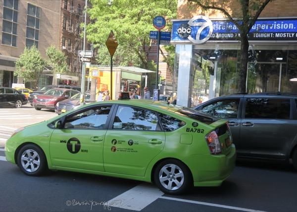 The Last Leaf Gardener: Monday Musings: Big Yellow Taxis Go Green
