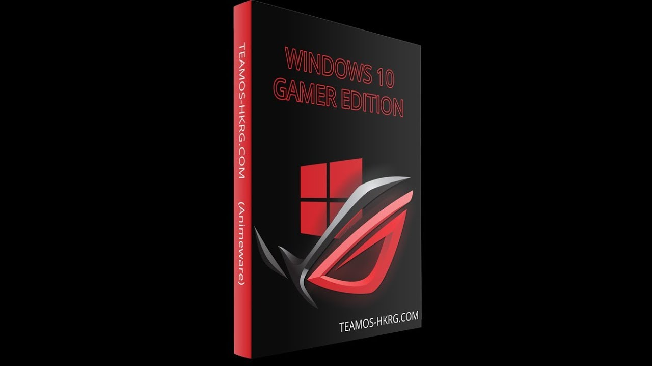 HAXOR NOX: Windows 10 Gamer Edition 2018 Free Download