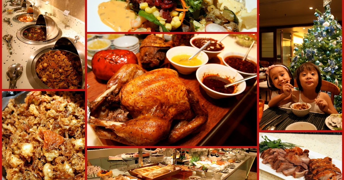 Review Buffet At Ginger Parkroyal On Beach Road: Christmas And New Year Festive Buffet At PARKROYAL On