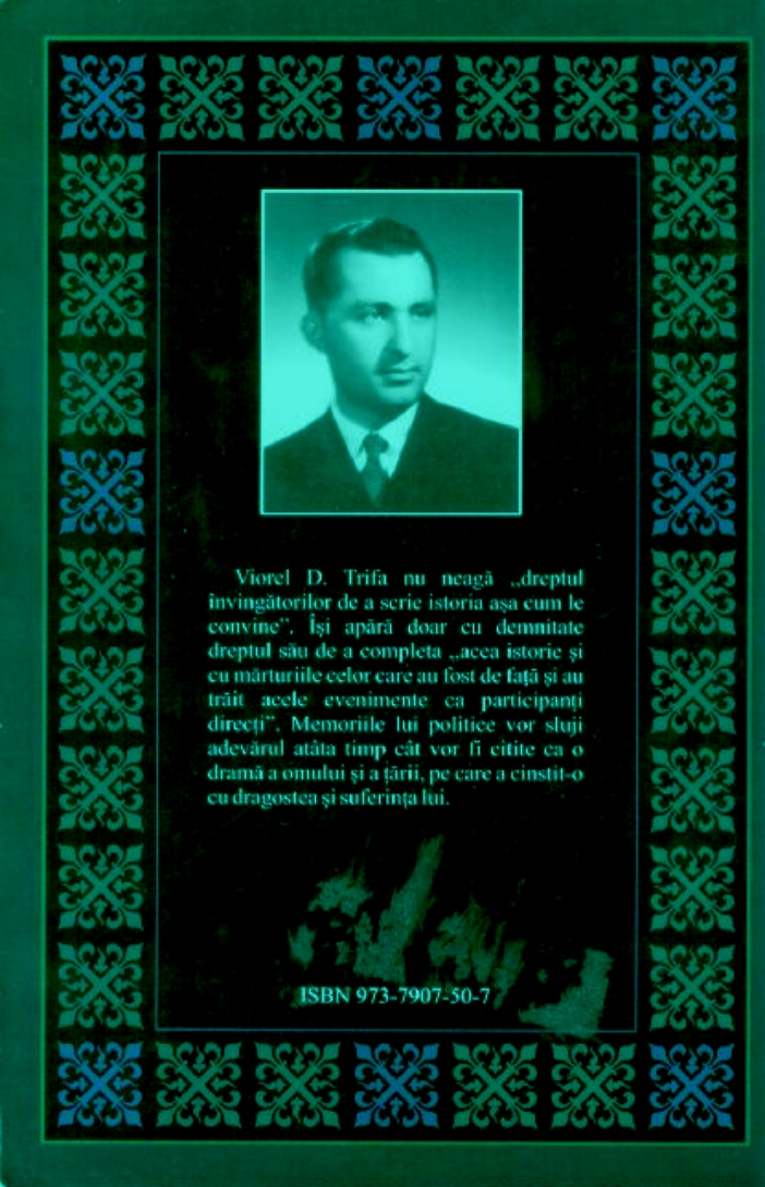 Viorel D. Trifa - Memorii