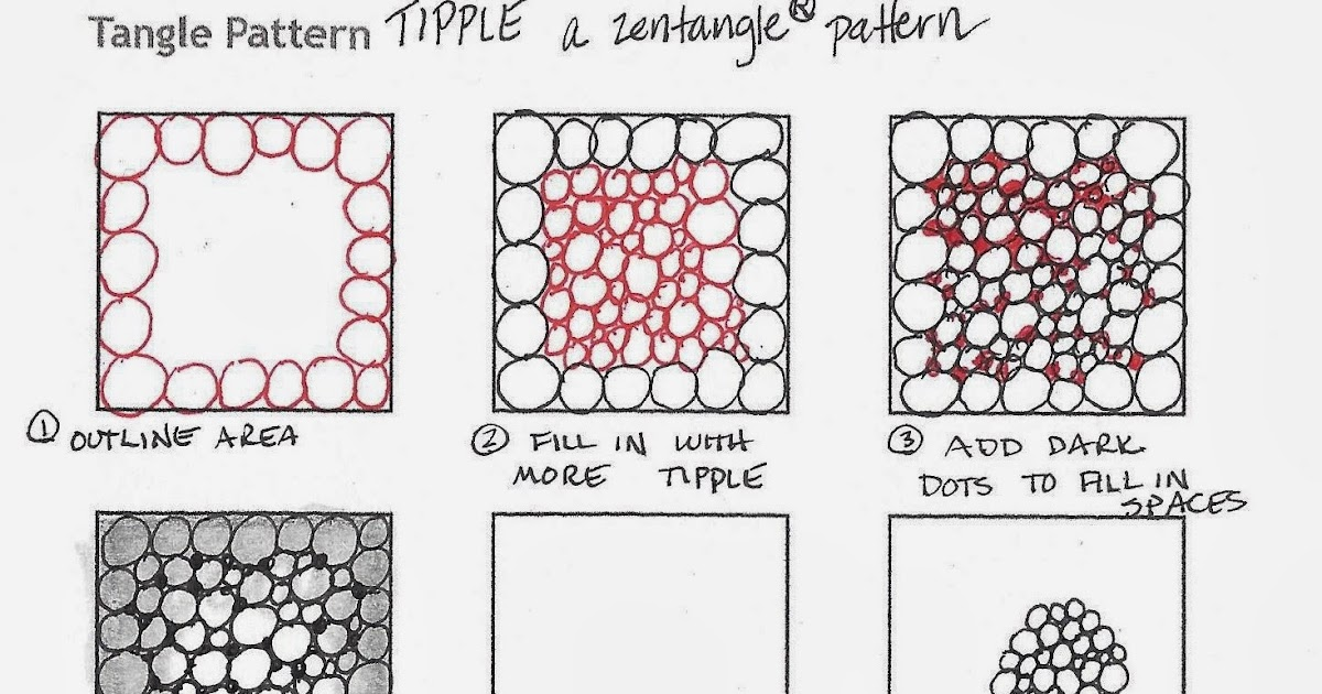 Tickled To Tangle Tips For Tangling Tipple And Tortuca