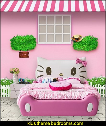 Hello Kitty Bed  Hello Kitty bedroom ideas - Hello Kitty bedroom decor
