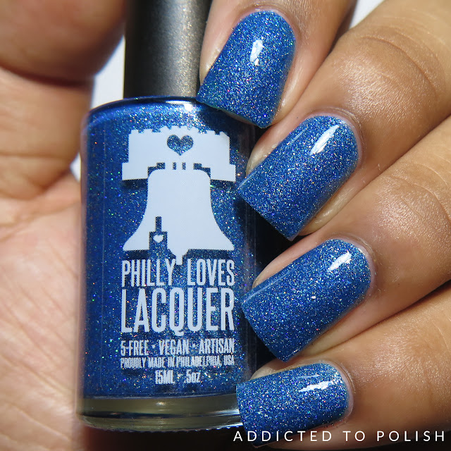 Philly Loves Lacquer Give Me Back My Blue Blanket Magic 8 Box May 2016