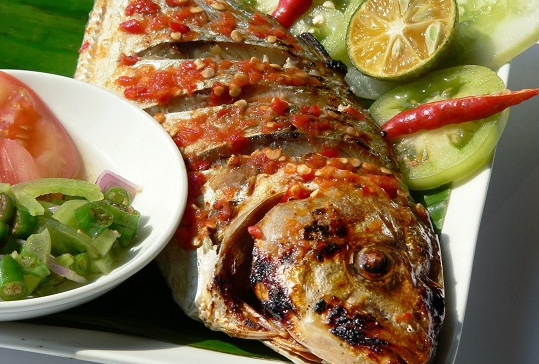 Cara bakar ikan kembung spesial