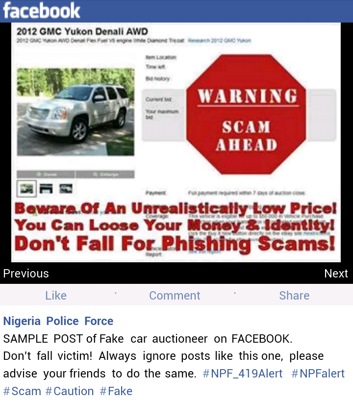 nigeria custom service car auction 2014
