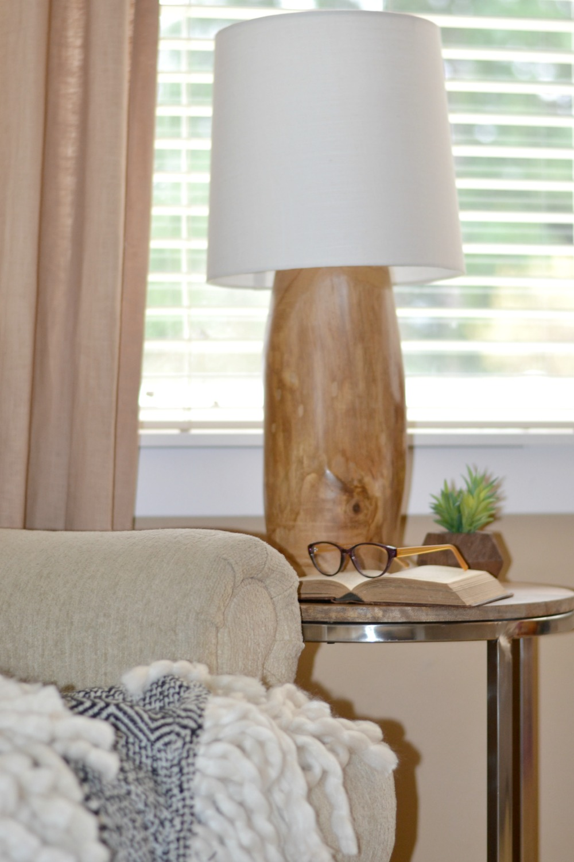 Diy A Modern Tree Stump Natural Wood Lamp Rachel Teodoro