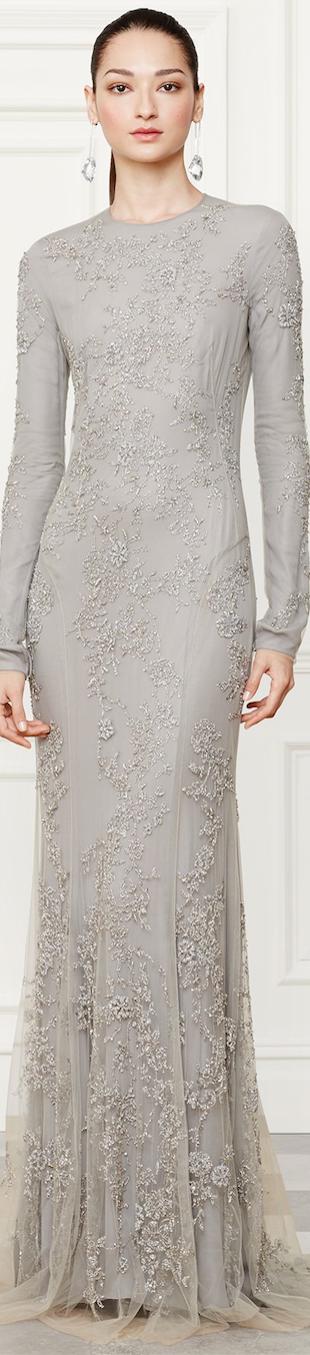 Ralph Lauren Fall 2014 Collection Danielson Gown