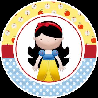 Blancanieves Bebé: Invitaciones, Etiquetas para Candy Bar y Wrappers y Toppers para Cupcakes para Imprimir Gratis.