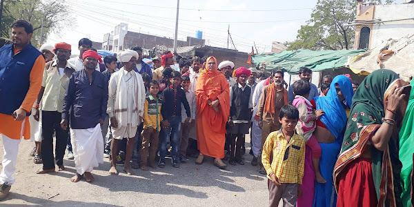 भगवान भोलेनाथ की निकली शोभायात्रा कल होगी स्थापना