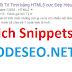Share CODE Xếp Hạng - Đánh Giá 5 Sao trên Google cho Blogspot chuẩn