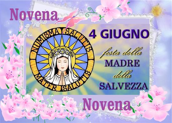✿❀☆ Novena in preparazione alla Festa della Madre della Salvezza (dal 26 maggio al 3 giugno)