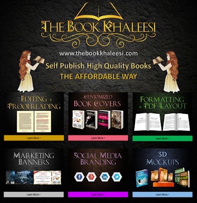 The Book Khaleesi Author Services, Self Publishing Support, Book Cover, Cover Design, Editing