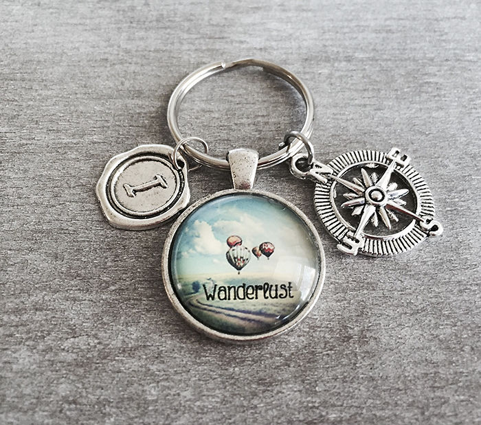 15+ Of The Best Traveler Gift Ideas Besides Actual Plane Tickets - Silver Keyring