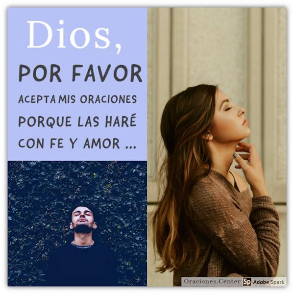 12 Oraciones a Dios Cortas y Bonitas