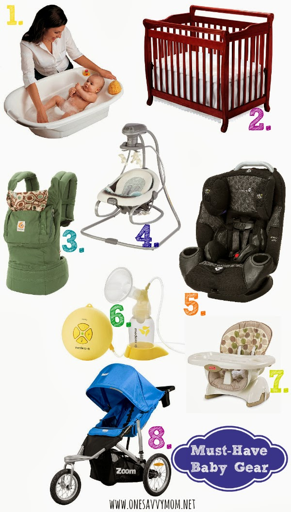 15826e50b3e4 Essential Baby Gear - 8 Must-Have Item s To Add To Your Baby Registry