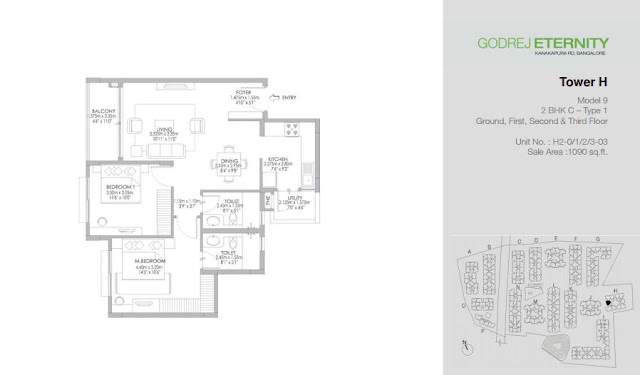 Godrej Eternity Bangalore Floor Plans