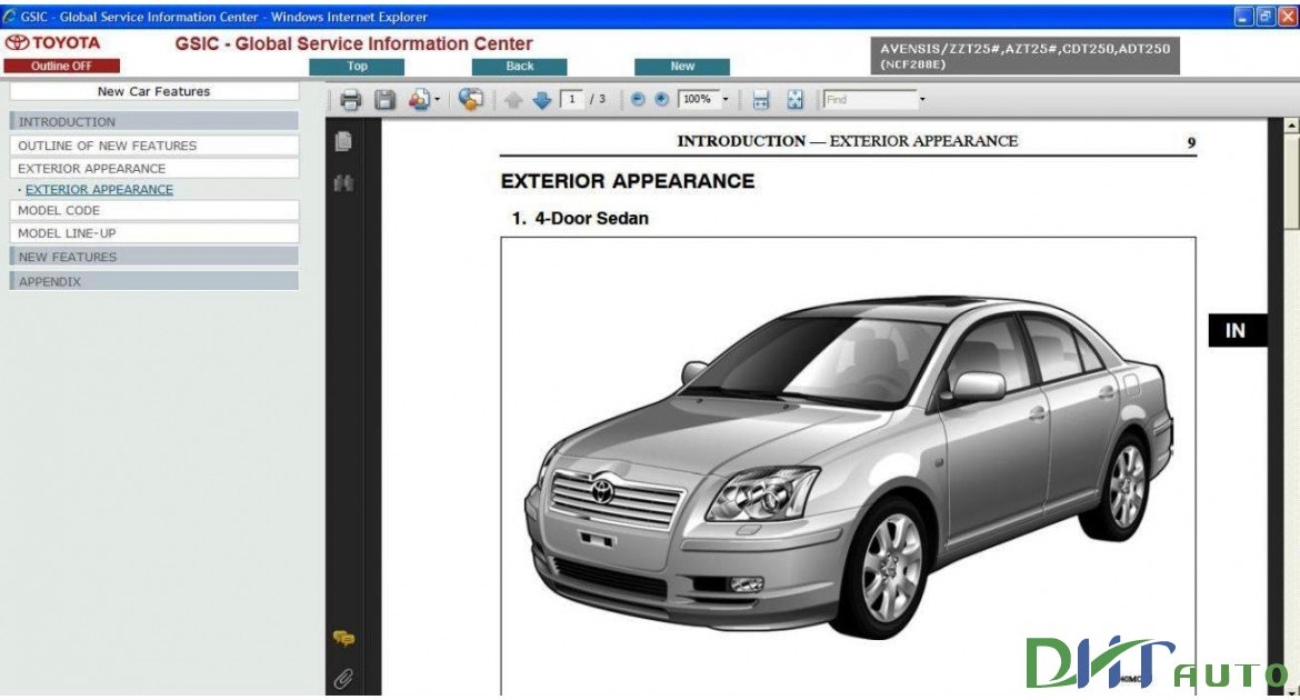 2008 Toyota Tacoma Electrical Wiring Diagram Service Shop Repair