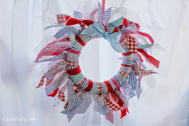 Creative Crafting Diy Fabric Festive Wreath