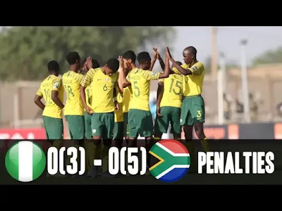 Nigeria vs South Africa 3-5 AFCON Football Highlights and Goals 2019