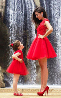 Baju Couple Cantik Ibu dan Anak 20001