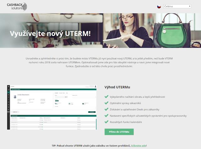 Nová stránka VTERM
