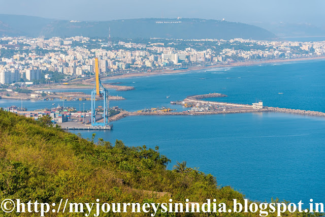 Vishakapatnam Dolphin Nose Lighthouse view