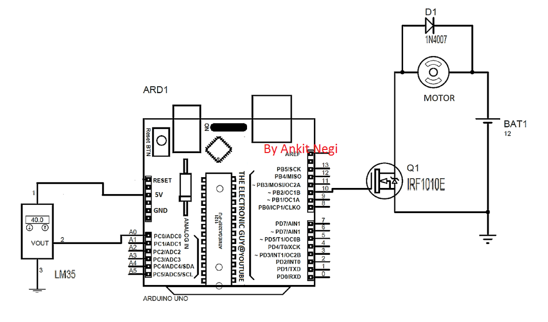 2 automatic temperature regulator circuits