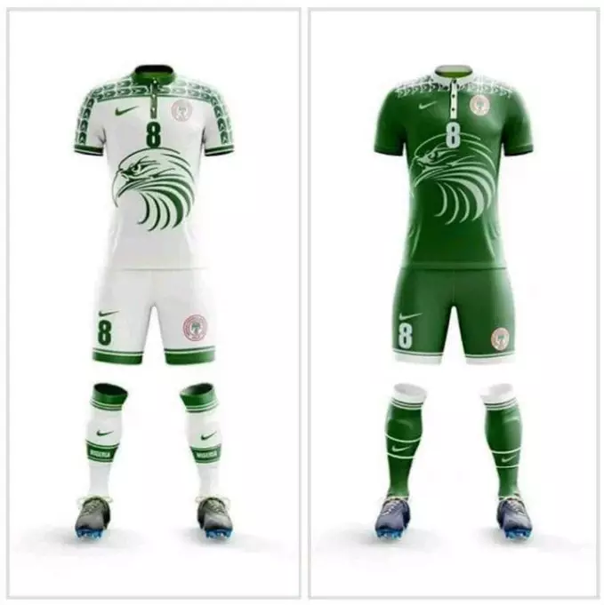 Sports: See The New Super Eagles Jersey For Russia 2018 (Photo)
