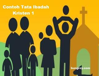 Contoh Tata Ibadah Kristen 1