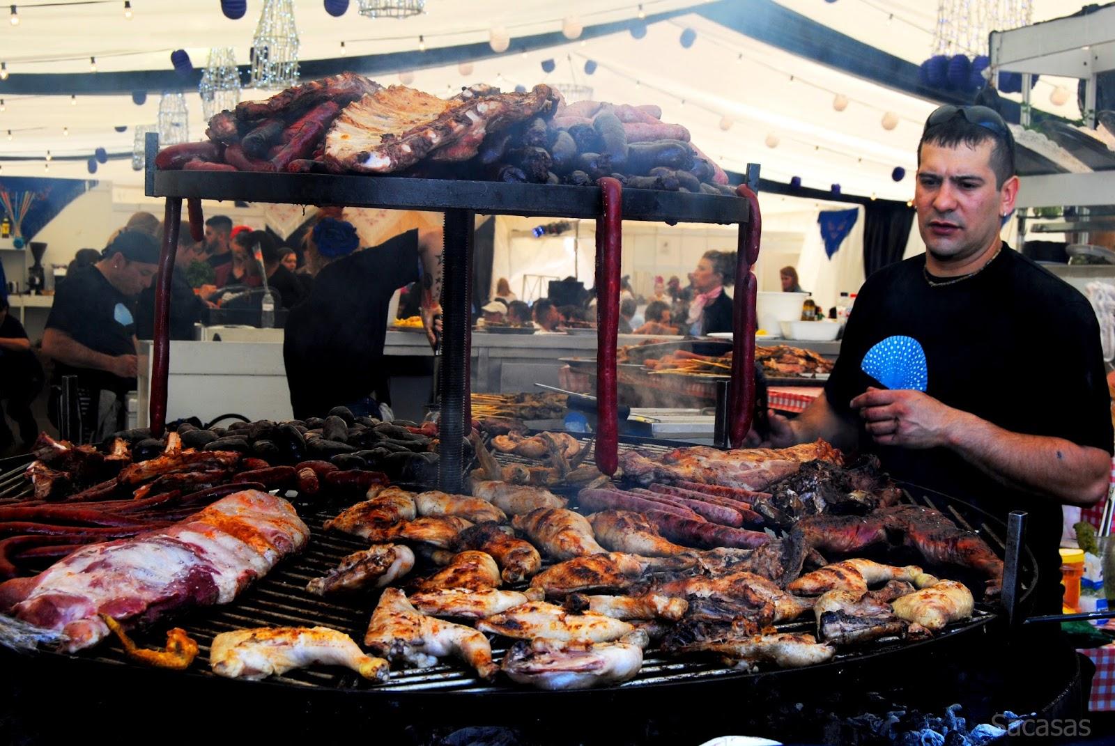 El grabado de la luz gastronom a en la feria de abril for Ferias barcelona hoy