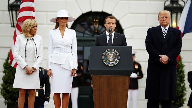 """Macron: """"Queremos trabajar con EE.UU. en un nuevo acuerdo nuclear con Irán"""""""