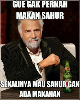 Foto lucu dan Gambar lucu DP BBM dan Meme Terbaru Jomblo Buka puasa lucu saat ramadhan