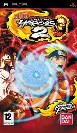 Naruto Ultimate Ninja Heroes 2 The Phantom Fortress [EUR-PSP-ISO]