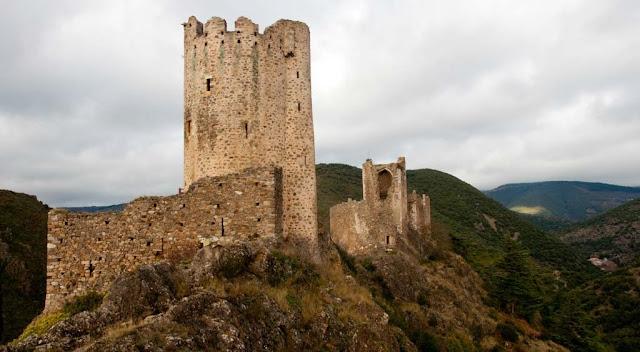 Torre Los castillos de Lastours
