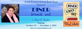 http://www.escapewithdollycas.com/great-escapes-virtual-book-tours/books-currently-on-tour/diner-knock-out-by-terri-l-austin/