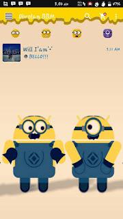 BBM Mod Minions v2.12.0.9 Apk Terbaru 2016