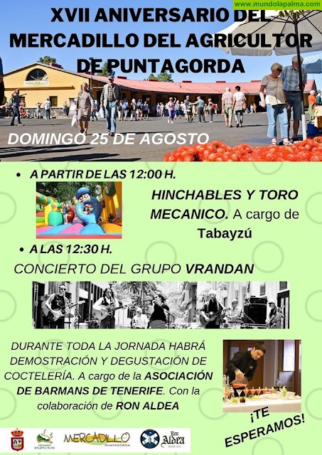 XVII Aniversario del Mercadillo de Puntagorda