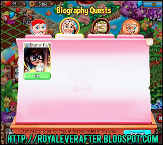 Royal Story Biography Quest