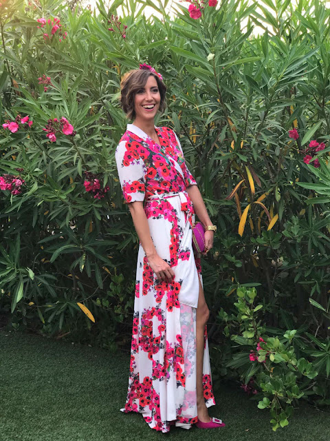 Fitness And Chicness-Look Invitada Boda Vestido Largo Flores-7