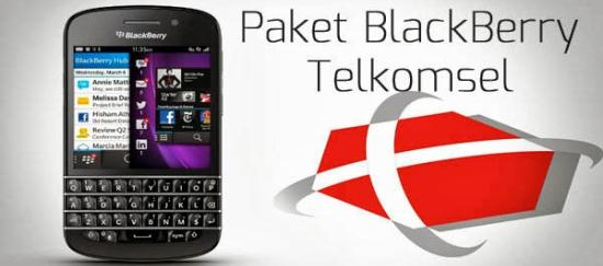 Paket BB Blackberry Telkomsel Murah Terbaru di Metro Reload