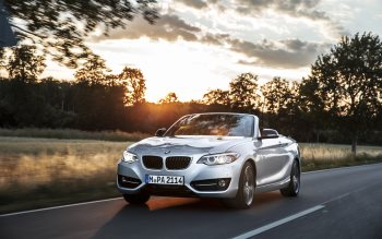 Wallpaper: New BMW 2 Series Convertible