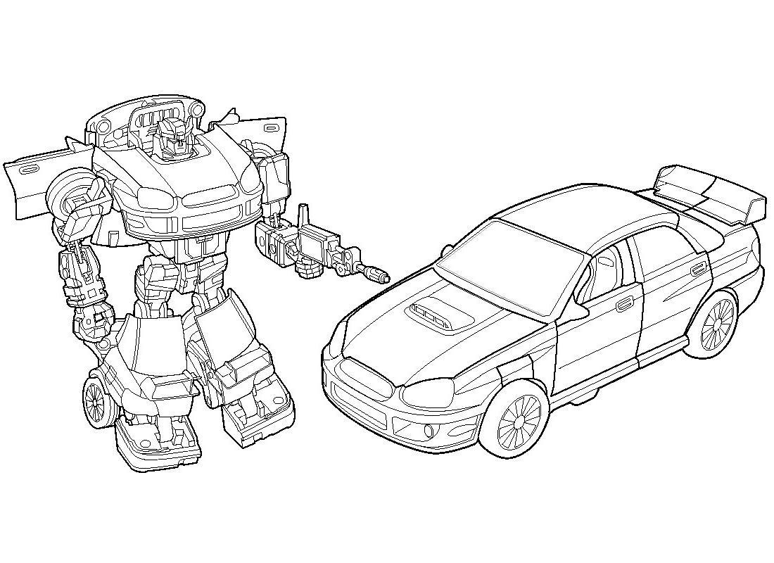 desenho para colorir transformers
